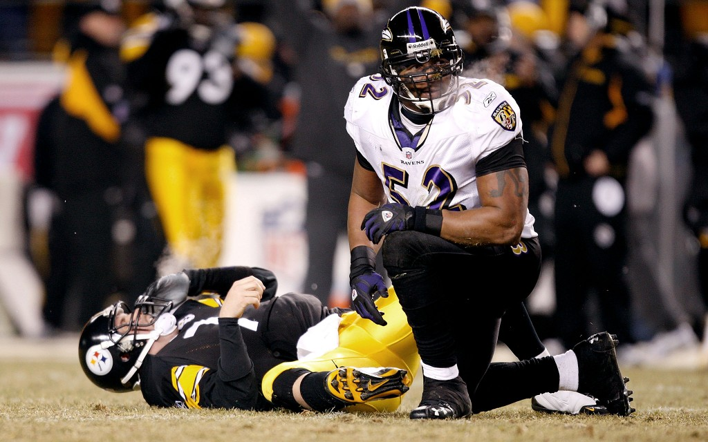 Ray Lewis Football Hits: The Ravens/Steelers Rivalry Is DEAD. 11/03/2016