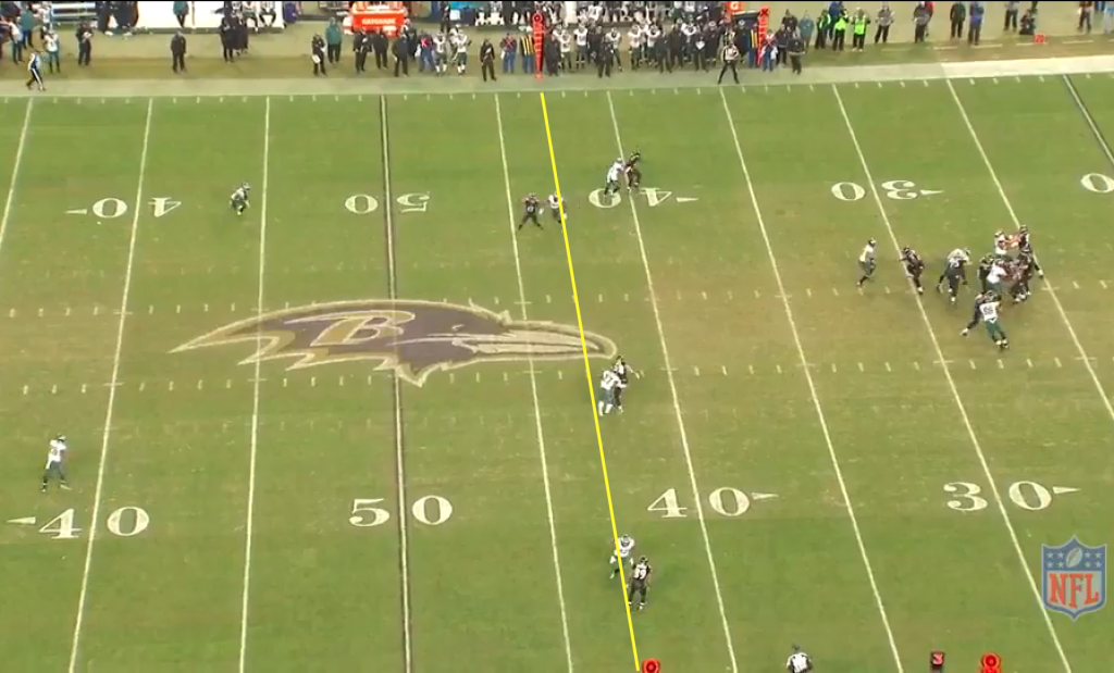 Flacco to Wallace Q4 2