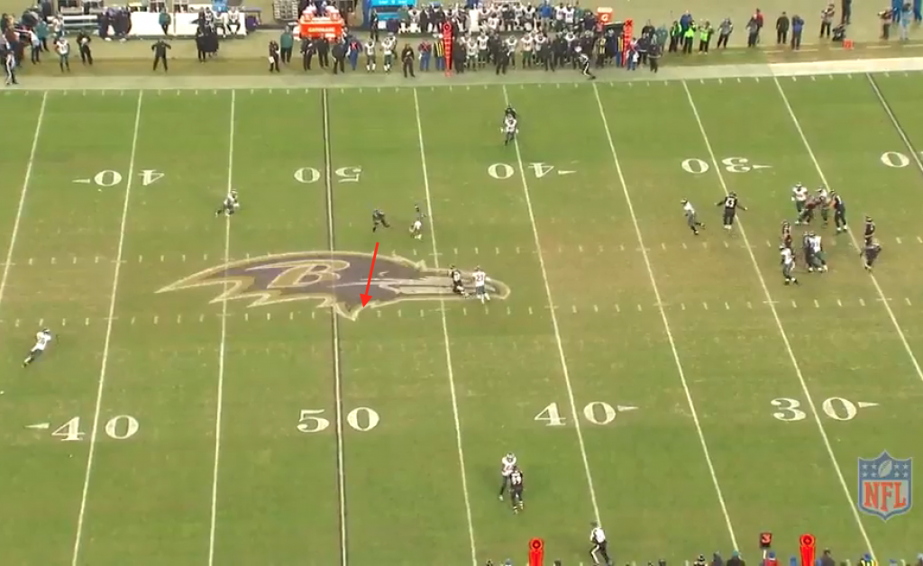 Flacco to Wallace Q4 3