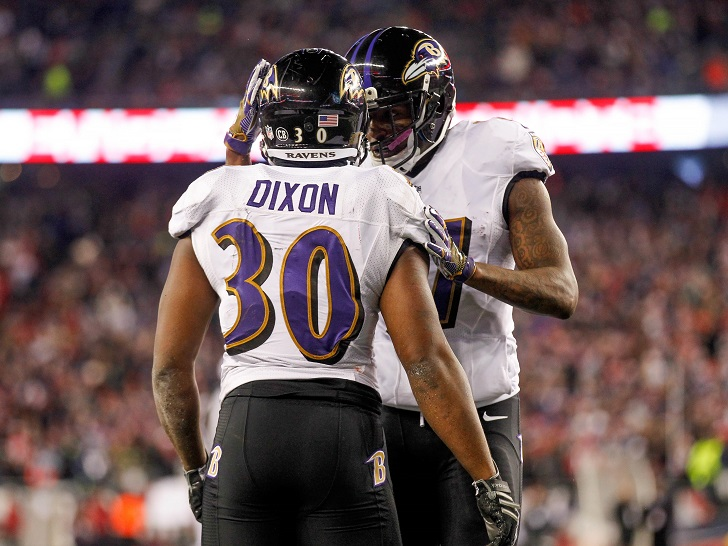 Dixon, Young Stand Out Against Pats