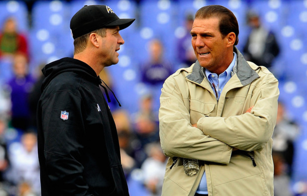 Bisciotti Does it Harbaugh's Way