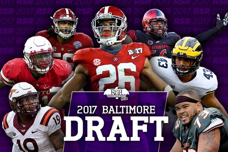 Ravens 2017 Draft Pick Contracts
