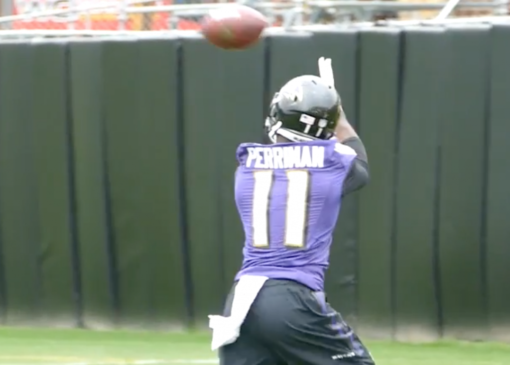 Perriman Steps up During OTAs