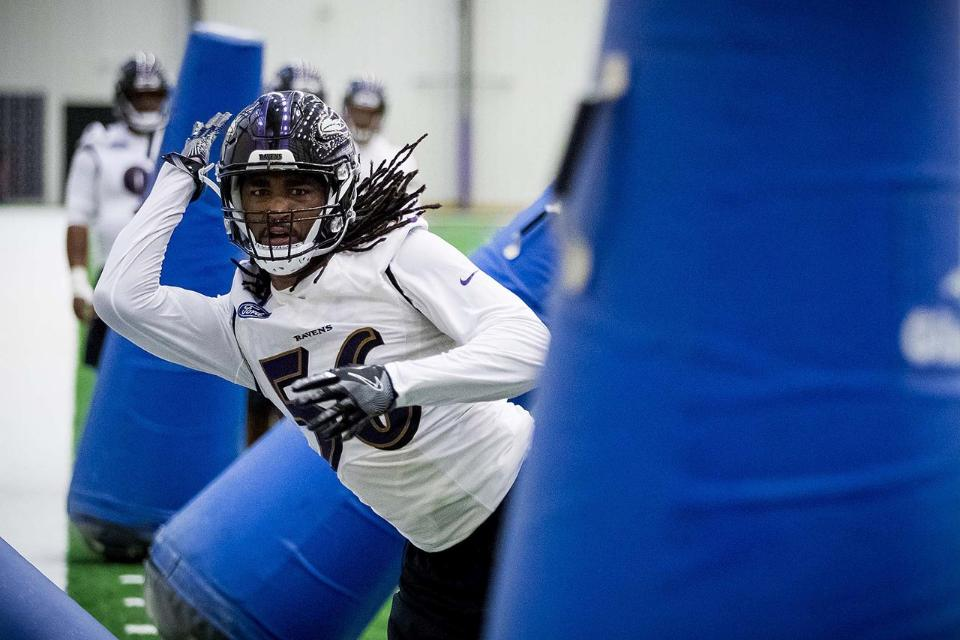 Ravens Rookies Pass First Test
