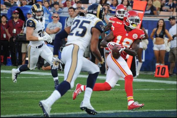Maclin Can Drive Passing Game from Slot