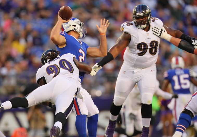 Ravens Ready to Smash Bills in Week 1