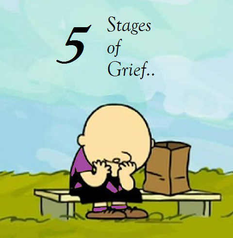 5 Stages of Grief – SAD!