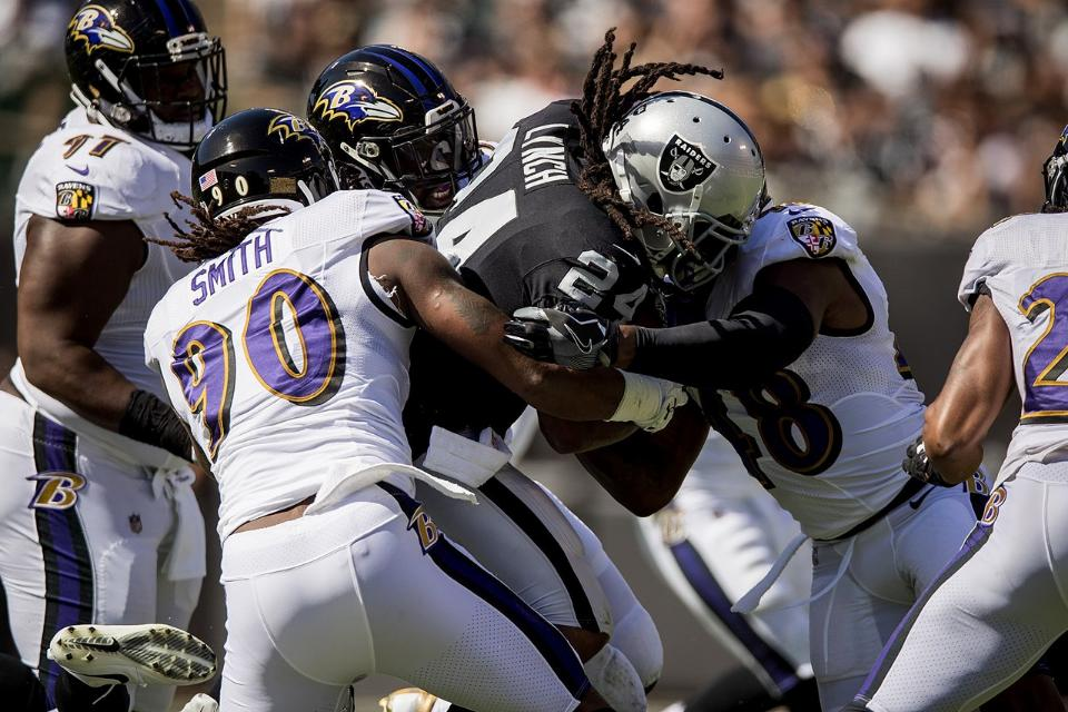 Raiders are Ravens' Next Obstacle