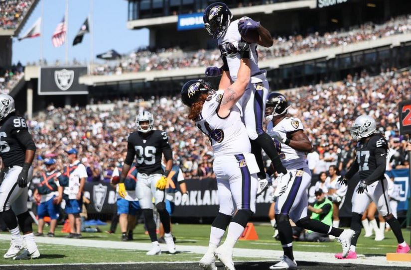 Ravens Bounce Raiders, 30-17