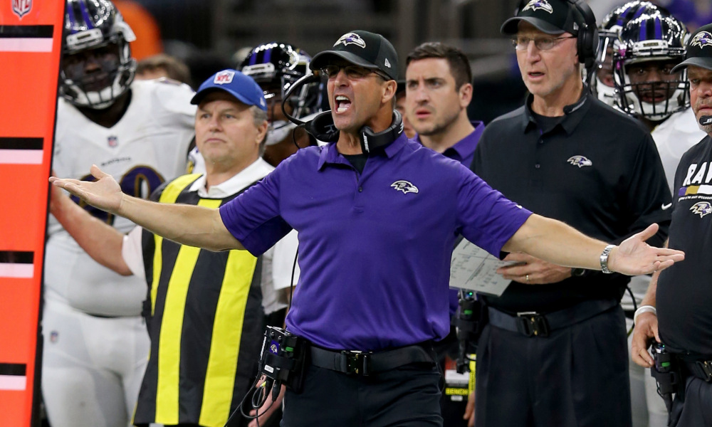 Harbaugh Among Most Penalized Coaches