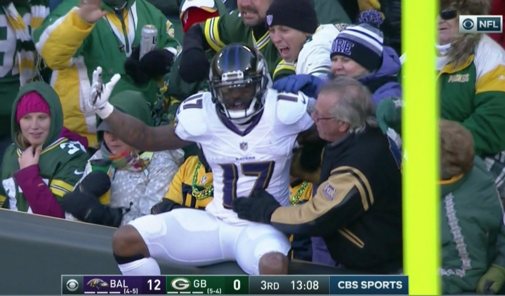 Ravens Leap at Lambeau