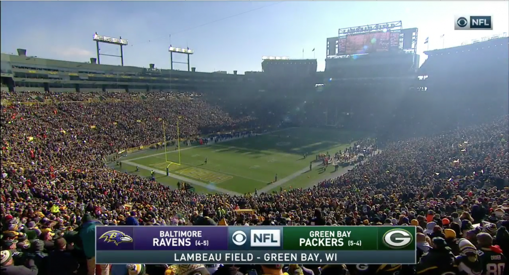 Ravens at Packers Broadcast Review