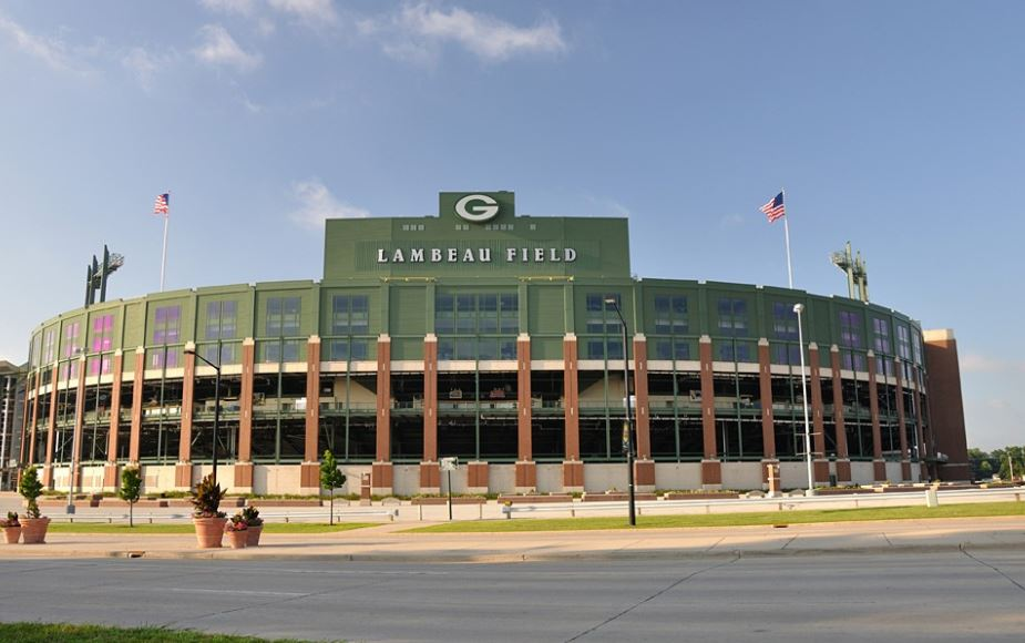 It's Lambeau Clock
