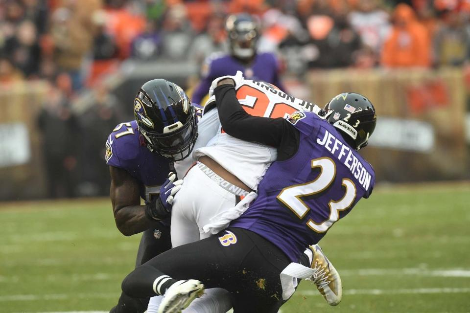 Ravens Look to Pound on Dawg Pound