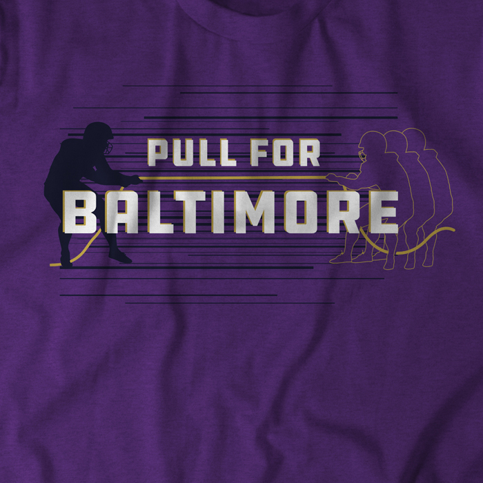 Pull for Baltimore with this T-Shirt!