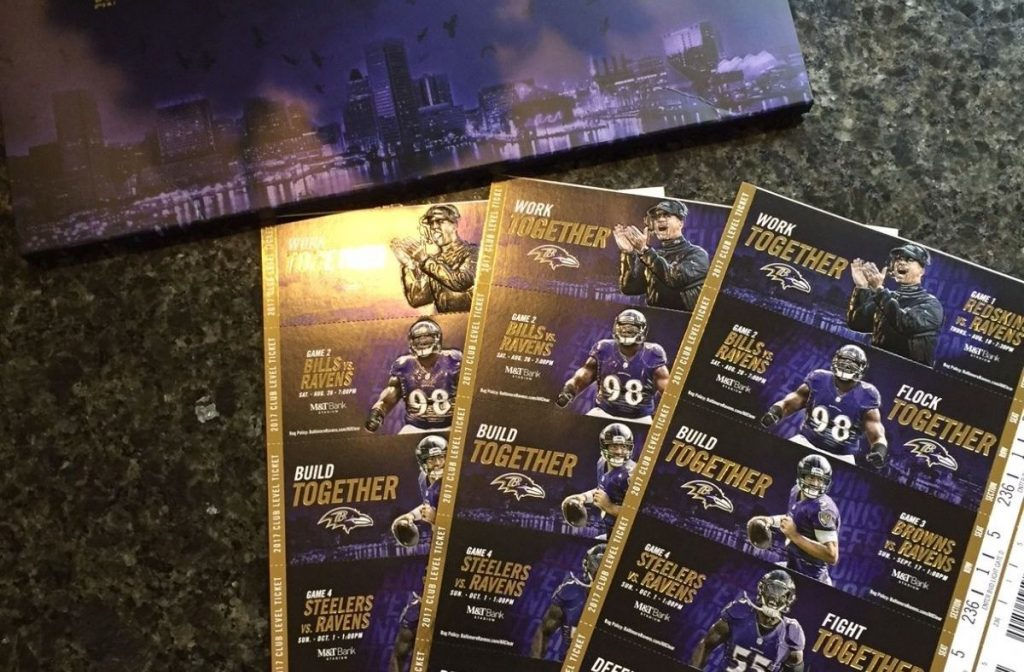 Ravens Announce Digital Ticketing