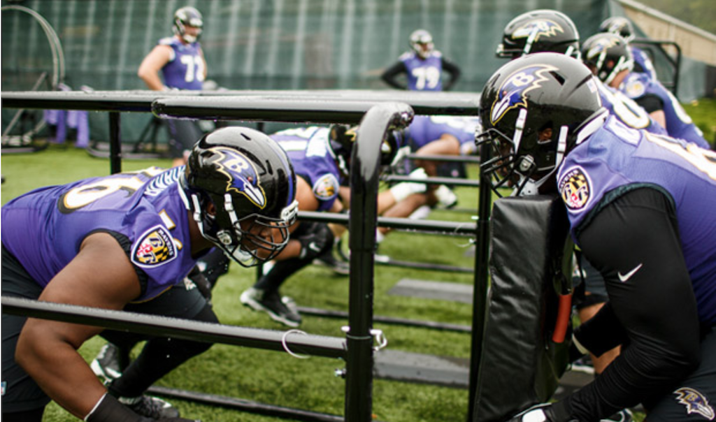 Bolstering The Ravens Offensive Line