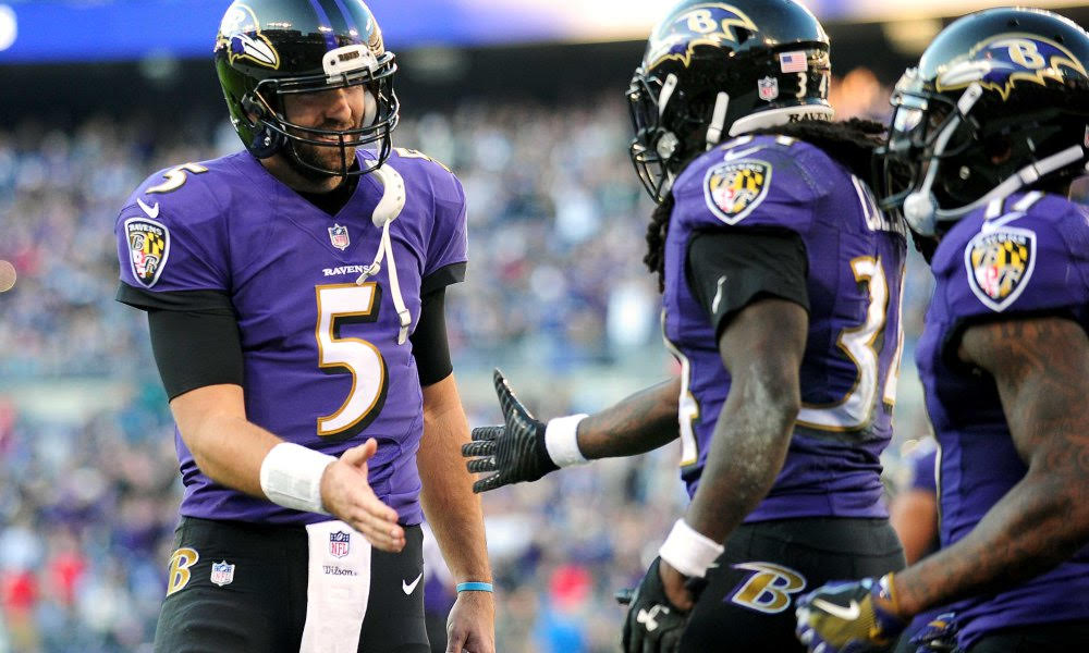 Flacco, Collins Carve Up Rams Defense