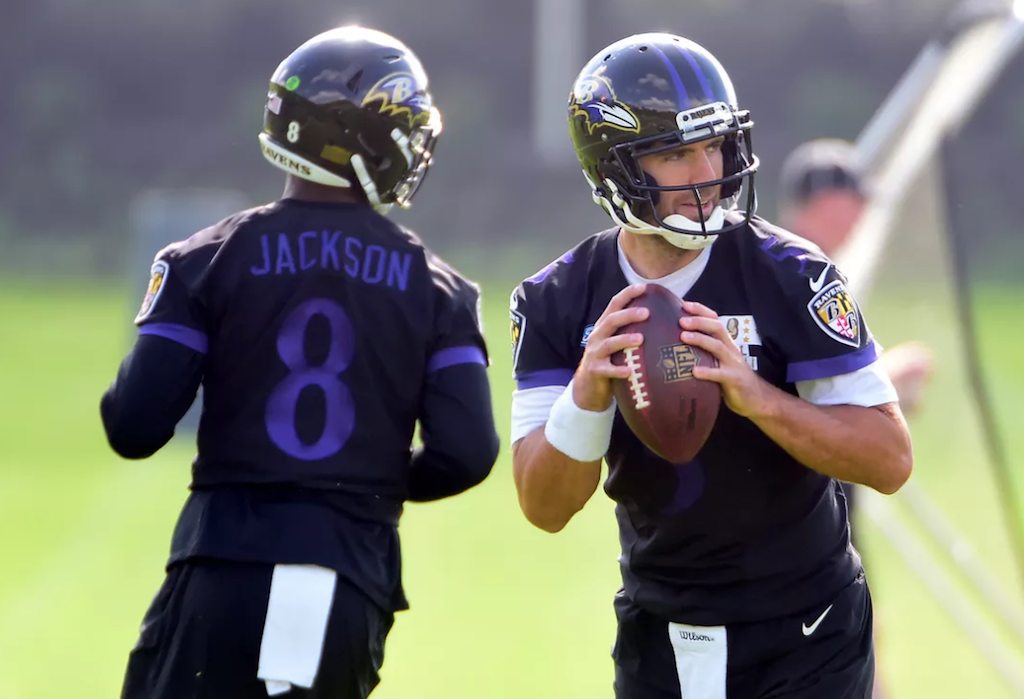 Challenging Joe Flacco