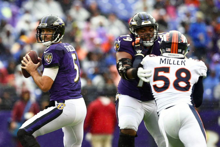 Ravens Effectively Neutralize Von Miller