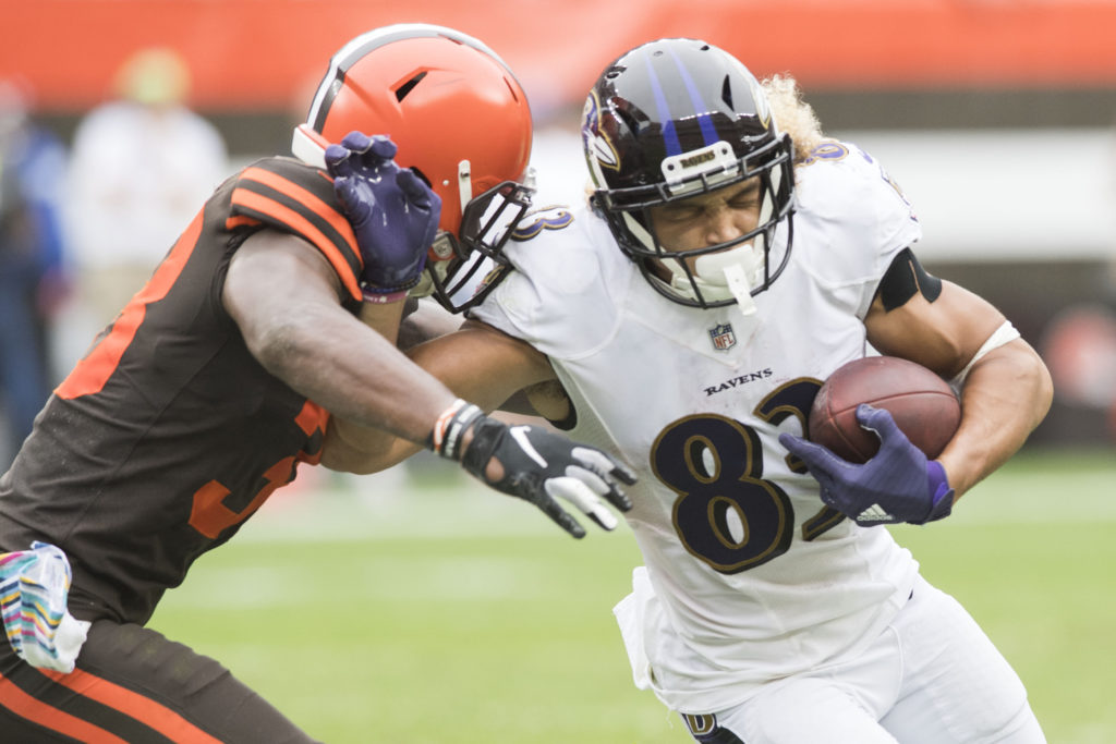 Snead Should Have Room vs. Browns