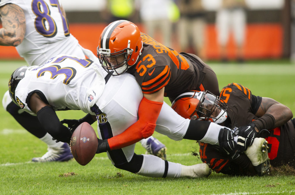 Ravens Lay an Egg in Cleveland