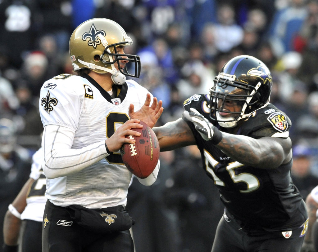 Ravens Hope to 'Brees' by Saints