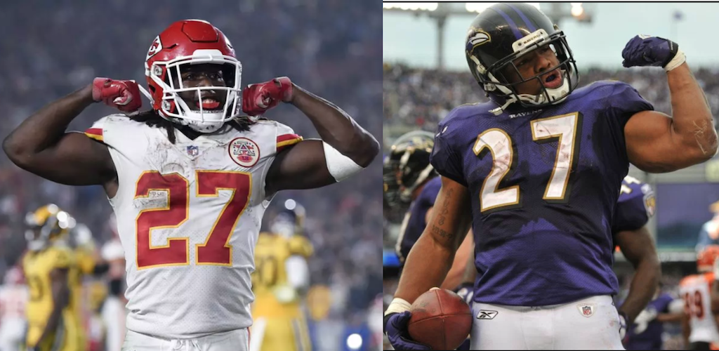 Kareem Hunt v. Ray Rice