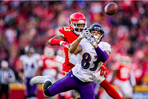 Ravens Have Void at Wide Receiver