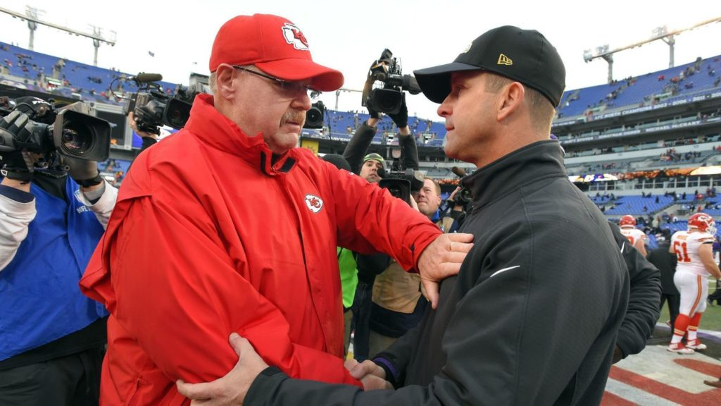 Andy Reid Knows the Ravens
