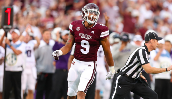 Montez Sweat of Mississippi State.