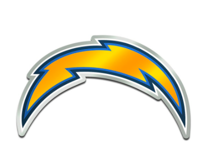 Chargers logo.