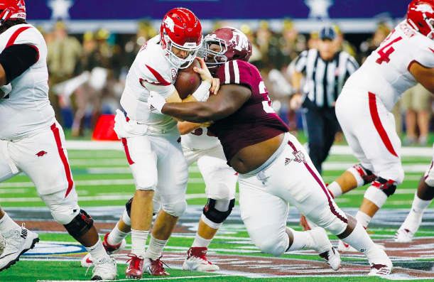 Ravens Draft A&M DT Daylon Mack in 5th