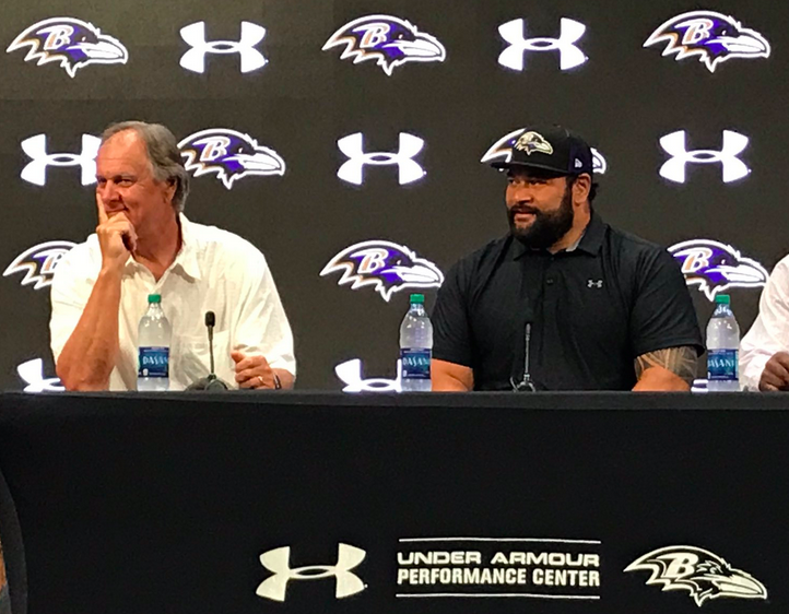 Ngata, Billick to be Inducted into ROH