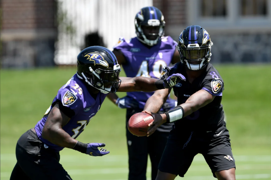 No Shock if Ravens Can't Run in August
