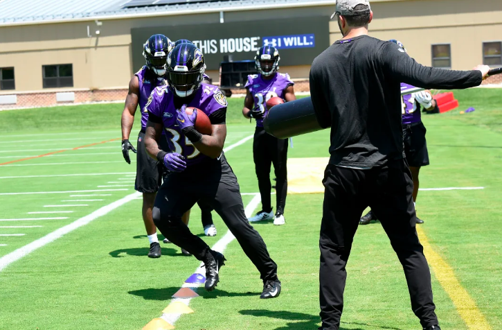 Ball Security A Quiet Focus On Ravens O