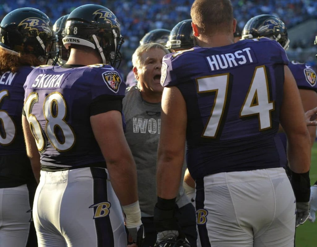 Ravens offensive line