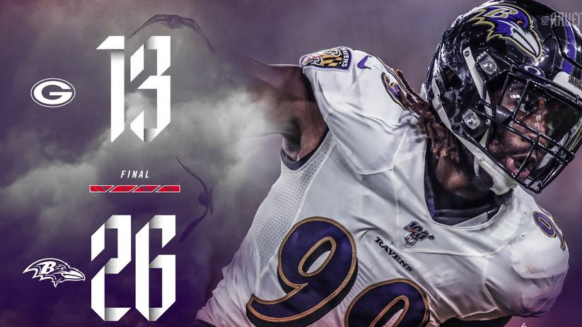 419e381d Baltimore Ravens: Knee-Jerk Reactions - Ravens Sack Pack 26-13