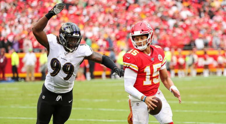 Ravens at Chiefs