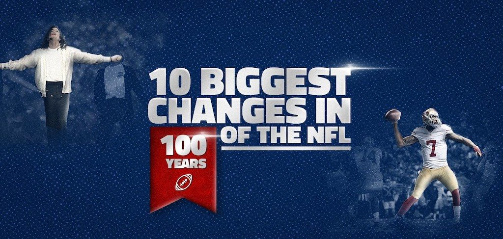 NFL's 10 Biggest Changes