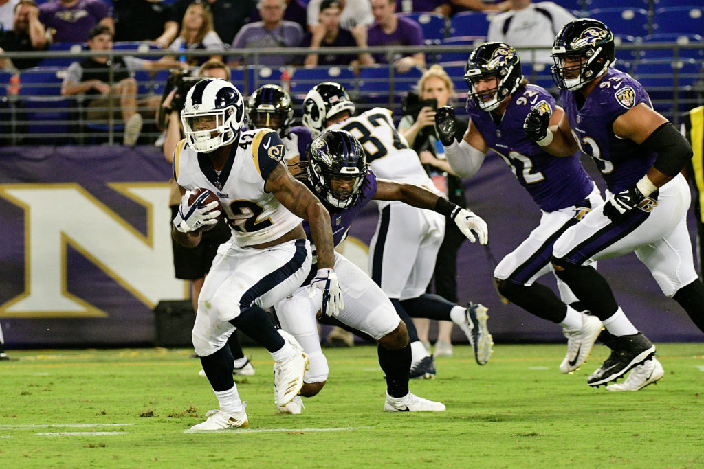 Ravens Face Tough Test in Rams