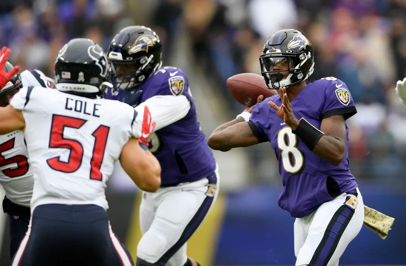 Ravens Eying AFC's Top Seed