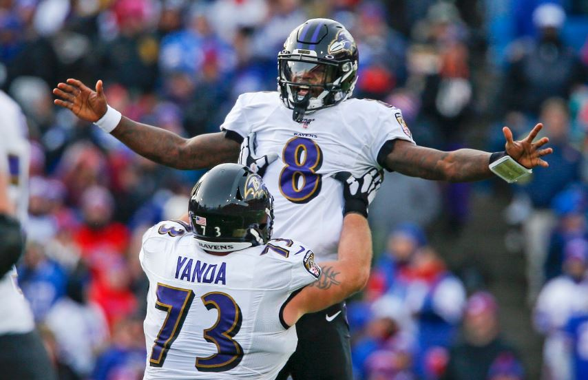 Ravens Hang On to Beat Bills 24-17