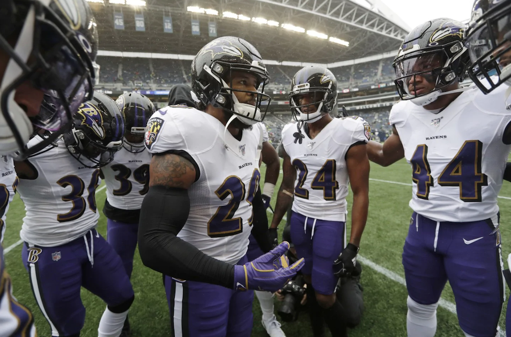 Ravens Secondary is The NFL's Richest