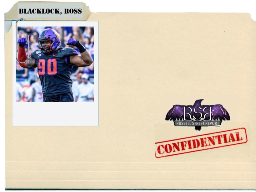Ross Blacklock, iDL, TCU