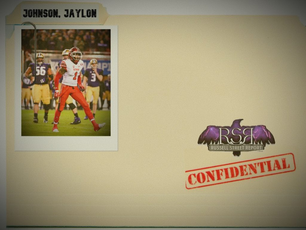 Jaylon Johnson, CB, Utah
