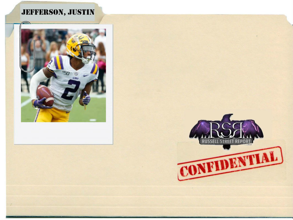 Justin Jefferson, WR, LSU
