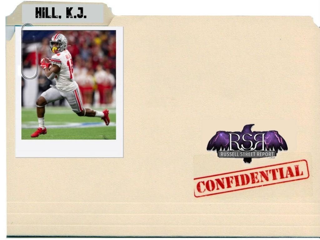 K.J. Hill, WR, Ohio State