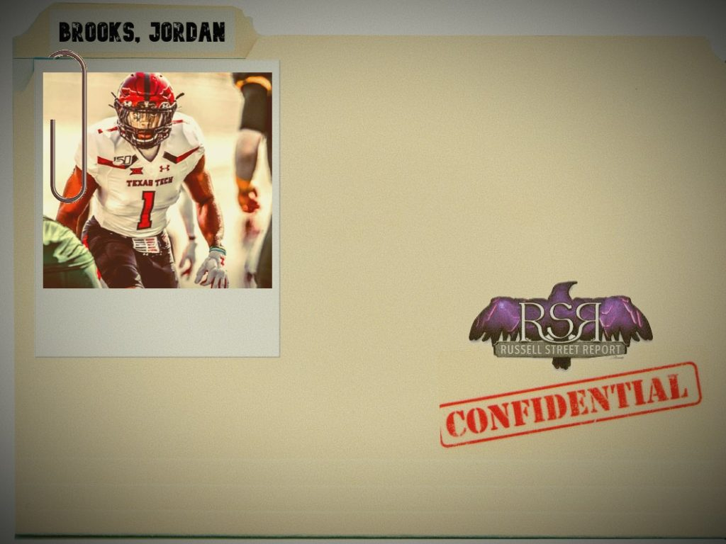 Jordyn Brooks, ILB, Texas Tech