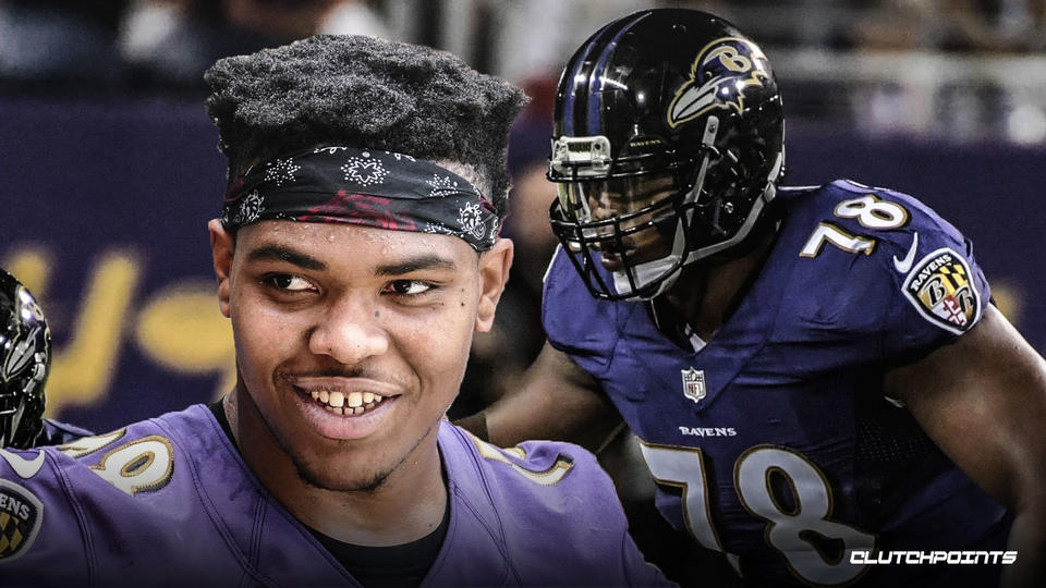 With Ronnie Stanley